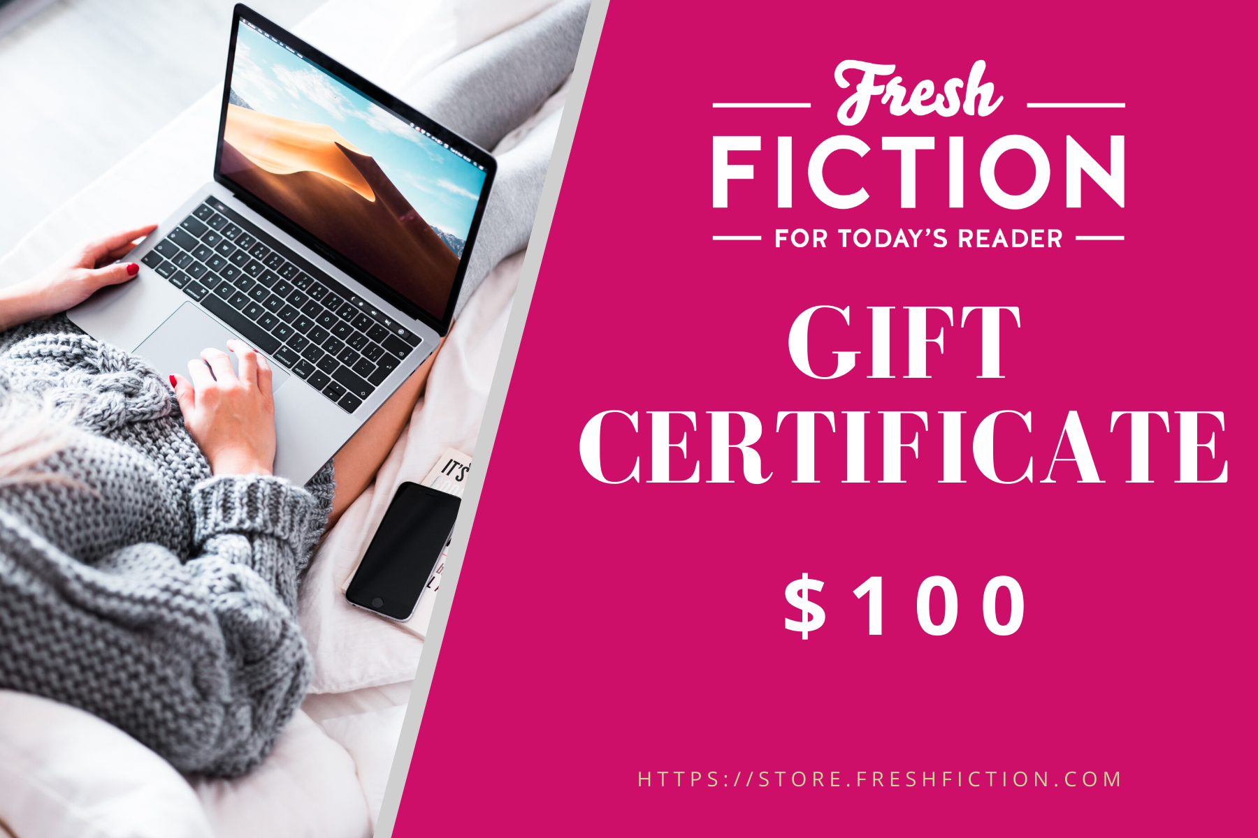 Fresh Fiction Gift Certificate